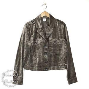 Cabi Sunday Topper Velvet Jacket